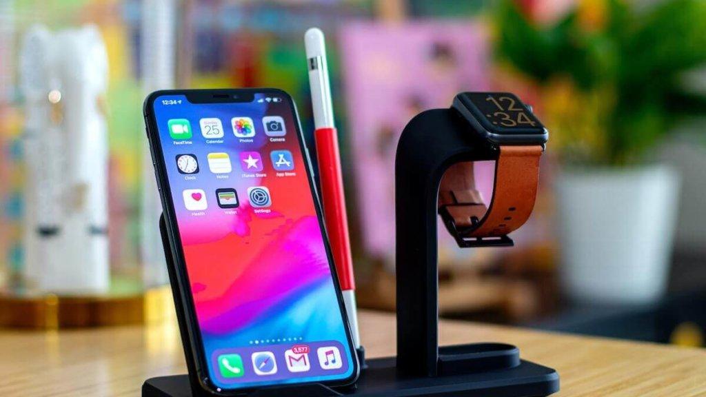 apple watchを充電する